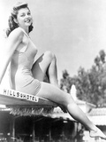 Esther Williams Seated in Classic