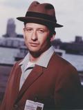 Homicide Man in Brown Coat with Brown Hat