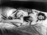 Geraldine Page Lying in Classic