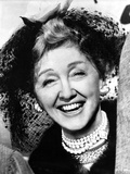 Hedda Hopper on a Pearl Necklaces