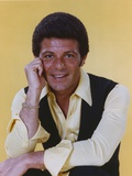Frankie Avalon in Yellow Shirt and Black Vest