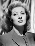 Greer Garson on a Blazer Black and White Portrait