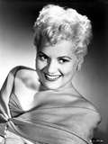 Judy Holliday smiling and Leaning Portrait
