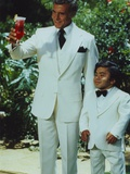 Fantasy Island Mr Roarke and Tatoo in White Suit