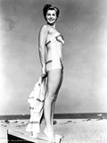 Esther Williams standing in Swimsuit