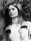 Genevieve Bujold Seated in Classic