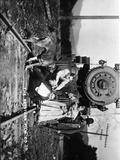 Gloria Swanson in a Movie Scene