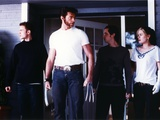 Hugh Jackman wearing White Shirt on X-Men Movie