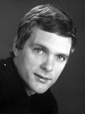 Keir Dullea in Black Shirt With White background