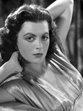 Faith Domergue Posed with Hands Behind Head