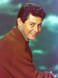 Eddie Fisher wearing Brown Sweater Portrait