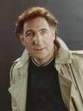 Judd Hirsch wearing a Brown Jacket in a Close Up Portrait