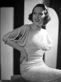Ethel Merman sitting in Classic Portrait