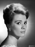Inger Stevens Posed in a Earrings