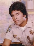 Erik Estrada Posed in Police Uniform