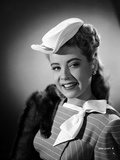 Gloria DeHaven smiling in A Portrait in Black and White