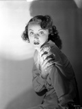 Fay Wray Portrait Shot in Darkness