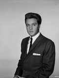 Elvis Presley Portrait in Tuxedo with Handkerchief
