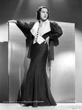 Ethel Merman standing in Coat