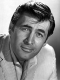 Fess Parker Close Up in White Tuxedo