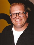 Drew Carey smiling in Black Coat Portrait