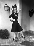 Joan Blondell on a Cocktail Dress