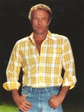 James Caan in Checkered Polo Portrait