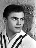 John Saxon Leaning on Stair