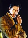 Jeff Goldblum Posed in Blazer
