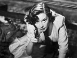 Jane Greer on a Blazer Point a Gun