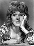 Lynn Redgrave Head Leaning on Hand in Classic Portrait