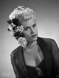 Judy Holliday with a Hair Dressed Portrait
