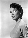 Julie Adams Posed Side View Black and White Portrait