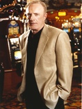 James Caan Posed in Gray Coat