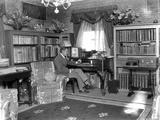 John Barrymore Seated in Portrait