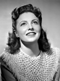 Joan Leslie on an Knitted Top and Looking Up