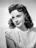 Joan Leslie on an Knitted Top and Looking Away