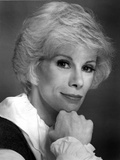 Joan Rivers Showing a Little Smile while in Side View in a Classic Portrait