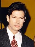 Jeff Goldblum Posed in Suit and Tie