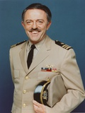 John Astin Posed in Portrait