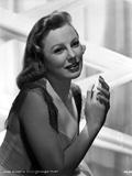 June Allyson Posed Side View Portrait