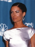 Lara Boyle Posed in Silk Dress