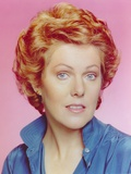 Lynn Redgrave in Blue Polo Close Up Portrait