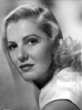 Jean Arthur on a White Top Portrait