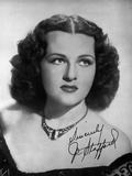Jo Stafford wearing a Necklace in a Classic Portrait