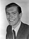 Johnnie Ray Posed in Suit With White Background