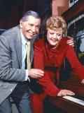 Milton Berle Couple Portrait smiling