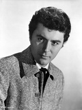 James Darren Posed in Brown Suit With White Background