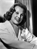 June Allyson smiling Portrait in Classic