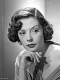 Jane Greer Leaning on a Hand Portrait
